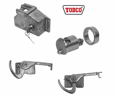TODCO TRUCK DOOR LOCKS AND LATCHES