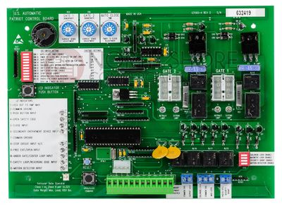 USAutomatic 500500 Control Board