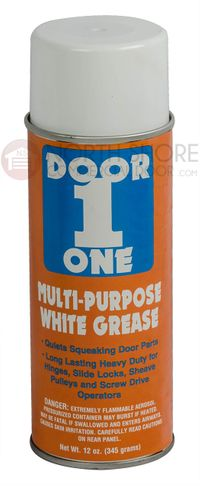 White Lithium Grease Garage Door Gate and Operator lubricant
