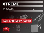 Xtreme Garage Model 425-1620 Rail Assembly Parts
