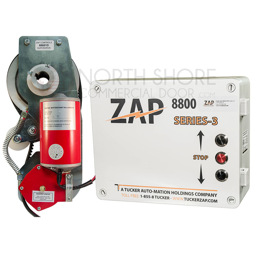 Zap 8825 Series Garage Door Opener Medium Duty Mj Jackshaft Opener