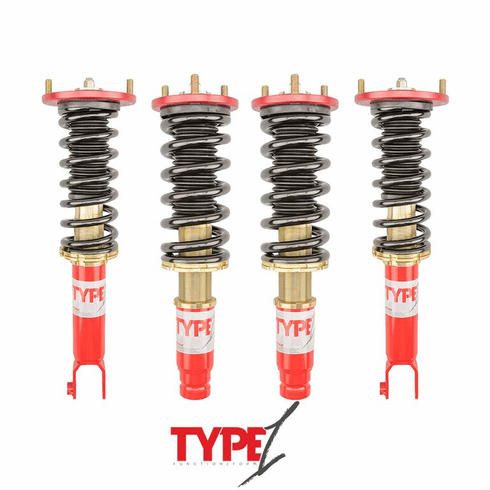 FUNCTION & FORM TYPE 1 COILOVER: INTEGRA 94-01, CIVIC 92-95 & DEL SOL 93-97 Free Shipping