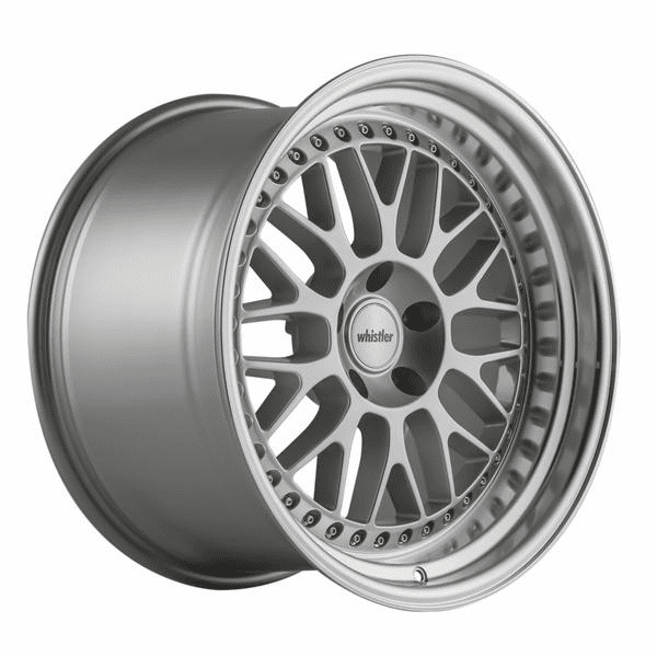 Whistler SK10 18x10.5 Silver Machined Lip