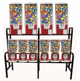 10 Machine Pro Line Big Pro Capsule/Candy Combo Rack