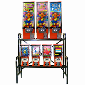 7 Machine Metal Pro Line  Capsule/Candy Combo Rack