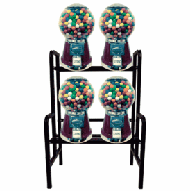 Big Bubble Candy Gumball Machine 4 Unit w/Stand