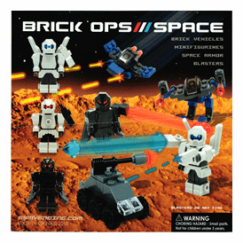 """Brick Ops / Space 2"""" Toy Capsules 250 pcs"""