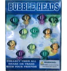 "Bubble Heads 1"" Toy Capsules 250pcs"