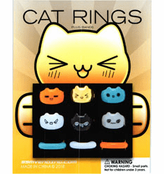 "CAT Rings 1"" Toy Capsules 250pcs"