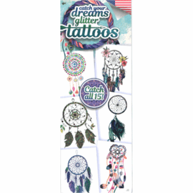 Catch Your Dreams Glitter Tattoos 300pcs