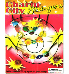 "Charm City Stringers 1"" Toy Capsules 250pcs"