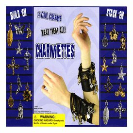 """Charmettes Charms 2"""" Toy Capsules 250 pcs"""