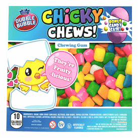"""Chicky Chews Chewing Gum In 2"""" Capsules 250 pcs"""