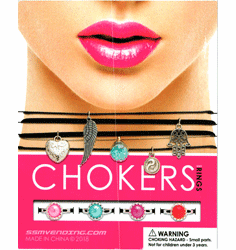 "Chokers 1"" Toy Capsules 250pcs"