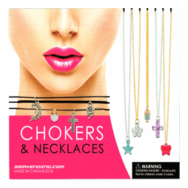 "Chokers & Necklaces  2"" Toy Capsules 250 pcs"