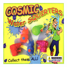 """Cosmic Water Squirters 2"""" Toy Capsules 250 pcs"""