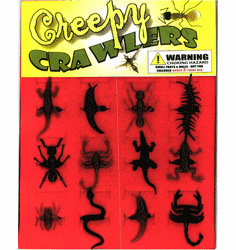 "Creepy Crawlers 1"" Toy Capsules 250pcs"