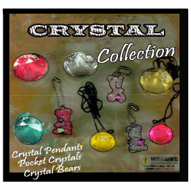 """Crystal Collection Jewelry 2"""" Toy Capsules 250 pcs"""