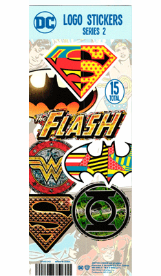DC Comics Logo Series 2 Stickers 300pcs