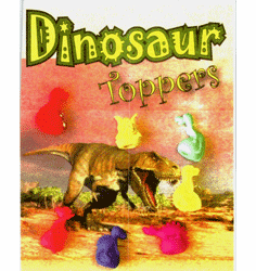 "Dinosaur Pencil Toppers1"" Toy Capsules 250pcs"
