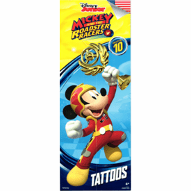 Disney Mickey & the Roadster Racers Tattoos 300pcs