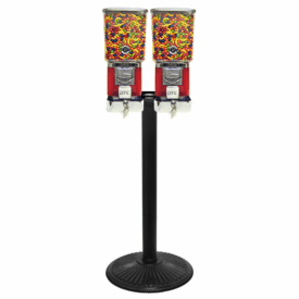 """Double Tough Pro Gumball Candy Machine with """"Secure Lock Cash Box"""""""