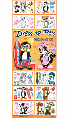 Dress Up Pets Stickers 300pcs
