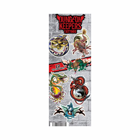 Dungeon Keepers Tattoos 300pcs