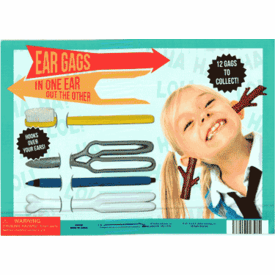 """Ear Gags 2"""" Toy Capsules 250 pcs"""