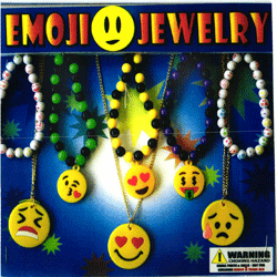 "Emoji Jewelry 2"" Toy Capsules 250 pcs"