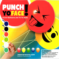 "Emoji Punch Ballon or Yo Yo Ball 2"" Toy Capsules 250 pcs"