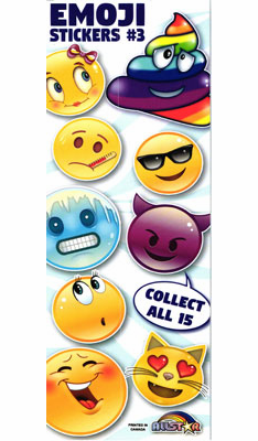 Emoji Series 3 Stickers  300pcs