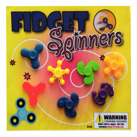 """Fidget Spinners 2"""" Toy Capsules 250 pcs"""