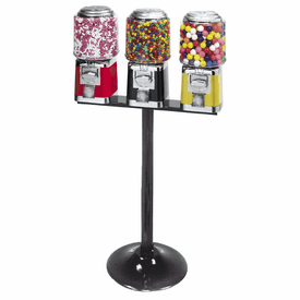 Fiesta Classic Triple Head Candy Machine with  Stand