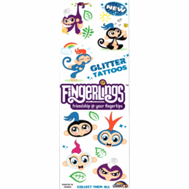 Fingerlings Glitter Tattoos 300pcs