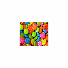 Flower Power Fruit candy 24 Lbs 11,000 ct