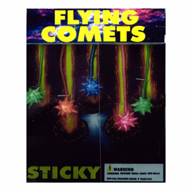"""Flying Sticky Comets 1"""" Toy Capsules 250pcs"""