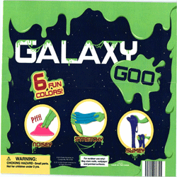 "Galaxy Goo 6 Fun Colors 2"" Toy Capsules 250 pcs"