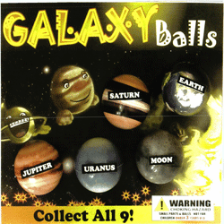 "Galaxy Self Vend balls 2"" Toy Capsules 250 pcs"