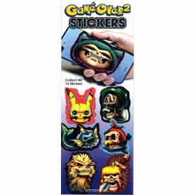 Game Over # 2 Stickers 300pcs