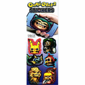 Game Over 2 Stickers 300pcs