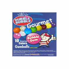 Gourmet Assorted 10 Colors Gumballs 850 ct