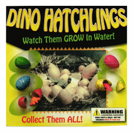"""Grow in the Water Dino Hatchlings 2"""" Toy Capsules 250 pcs"""