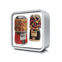 Gumball Machine, and Candy Vending Machines