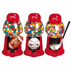 Gumball Machine - Sports Fan Baseball
