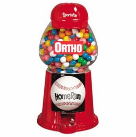 Gumball Machine  Sports Fan Baseball - Custom Die Cut Vinyl