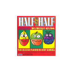 Half & Half Fruit Flavored Oak Leaf Gumballs 850ct