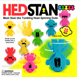 "Hed Stan Tumbling & Spinning Dude 2"" Toy Capsules 250 pcs"