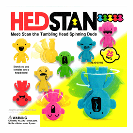 """Hed Stan Tumbling & Spinning Dude 2"""" Toy Capsules 250 pcs"""