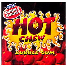 Hot Chew Cinnamon Gumballs 850ct